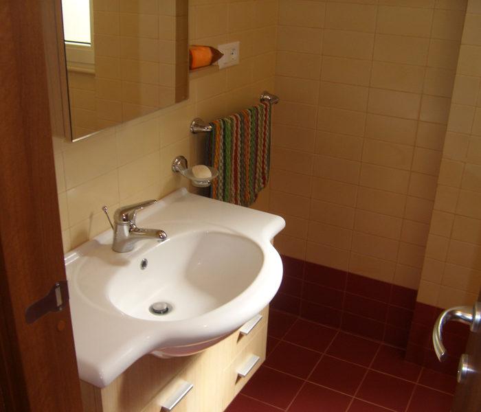 Bagno dell'appartamento